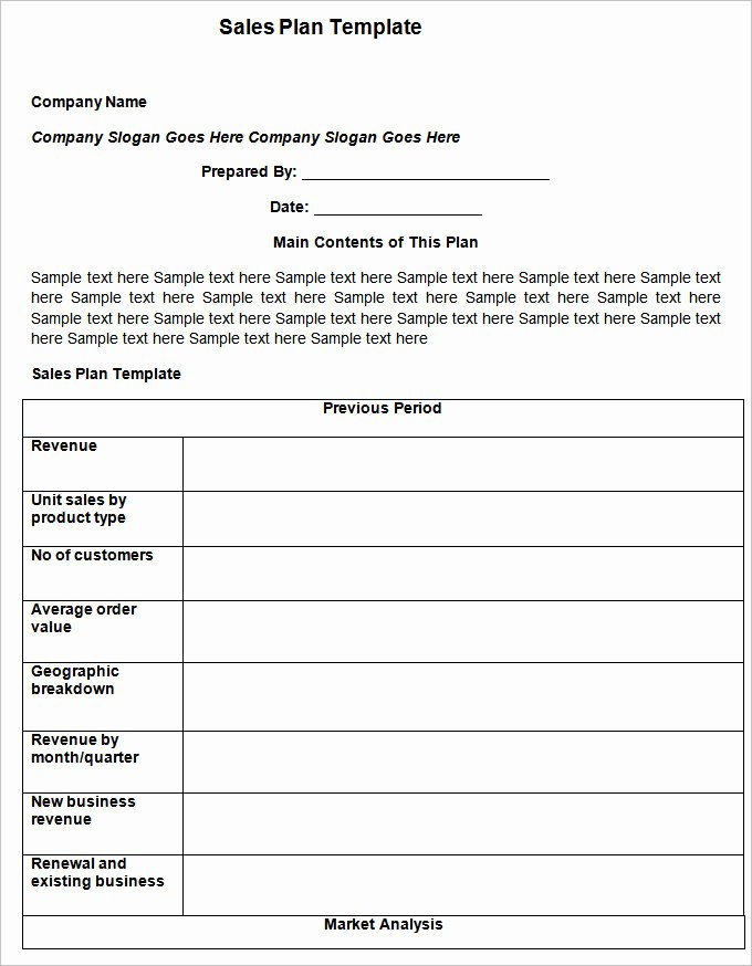 Business Action Plan Template Luxury Sales Action Plan Template – 11 Free Word Excel Pdf