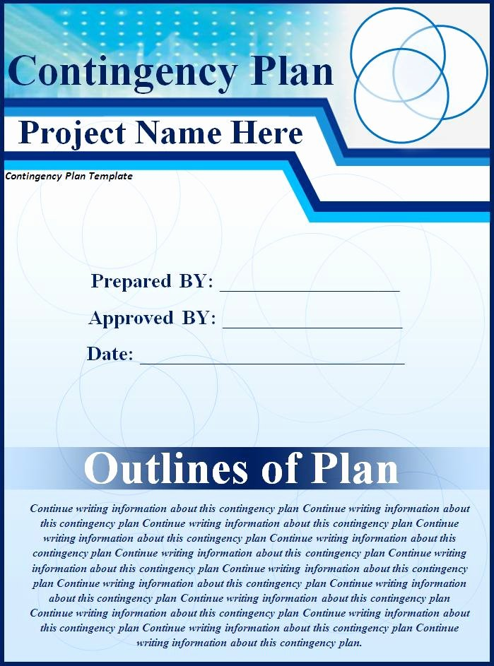 Business Contingency Plan Template Best Of Plan Templates