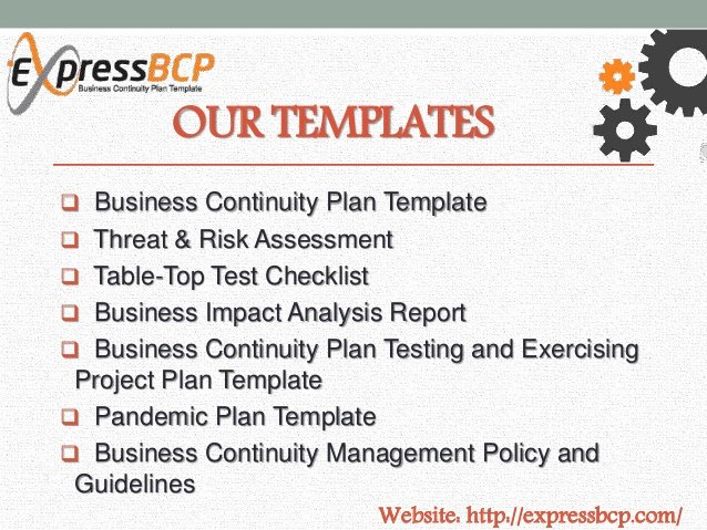 Business Continuity Plan Template Inspirational Express Bcp Business Continuity Plan Template