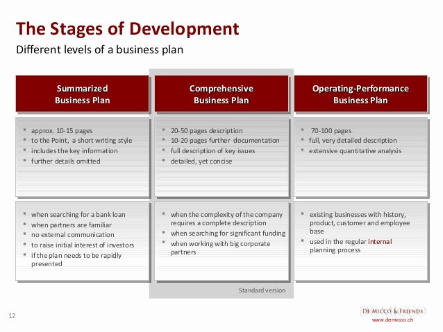 Business Development Plan Template Awesome De Micco & Friends Free Business Plan Template English