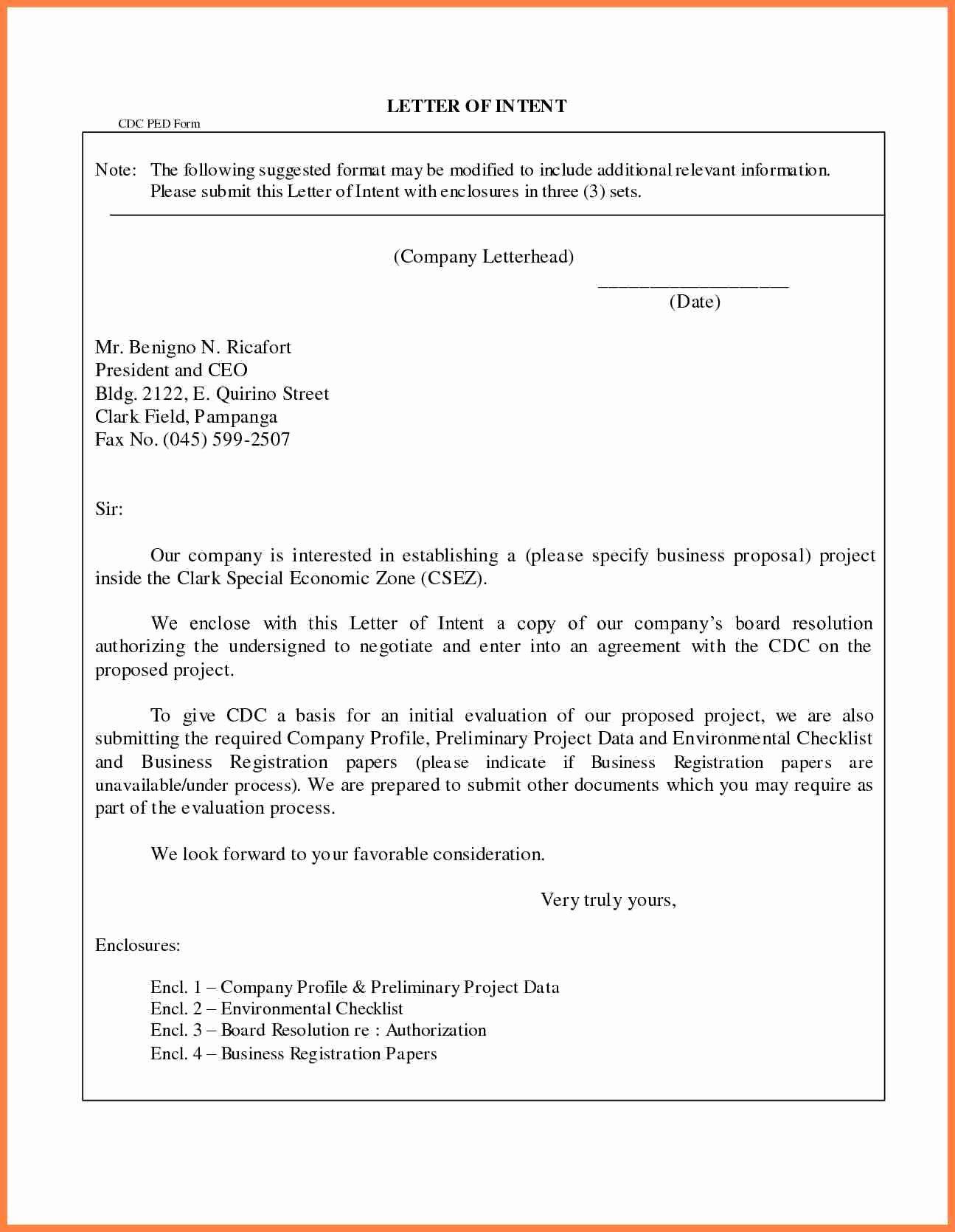 Business Letter Enclosure format Best Of 4 Pany Profile Sample Letter