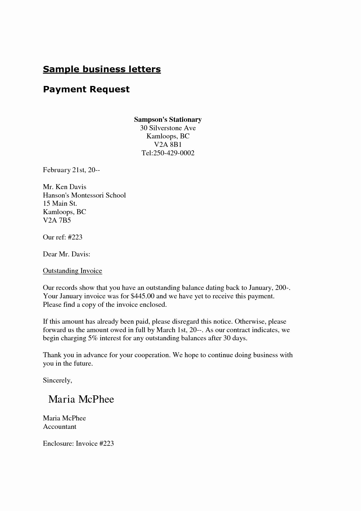 Business Letter Enclosure format Lovely Letter with Enclosures Sample