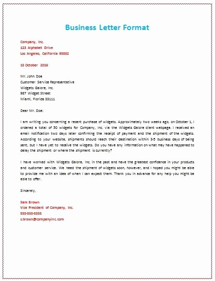 Business Letter format Cc Elegant 6 Samples Business Letter format to Write A Perfect