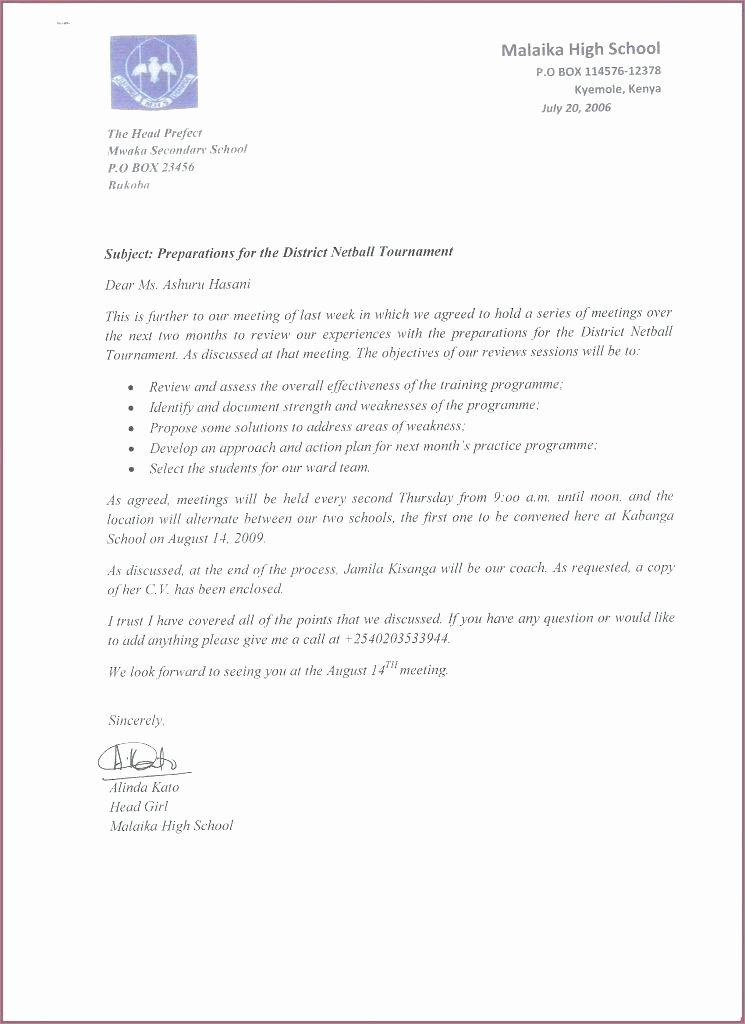Business Letter format Cc Lovely Letter Writing Template Cc Copy Business Letter format Cc