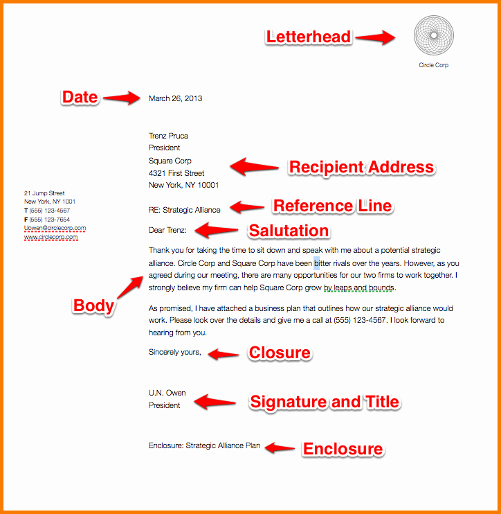 Business Letter format Purdue Owl Beautiful Extraordinary Business Letter Ficial format Craftsnews