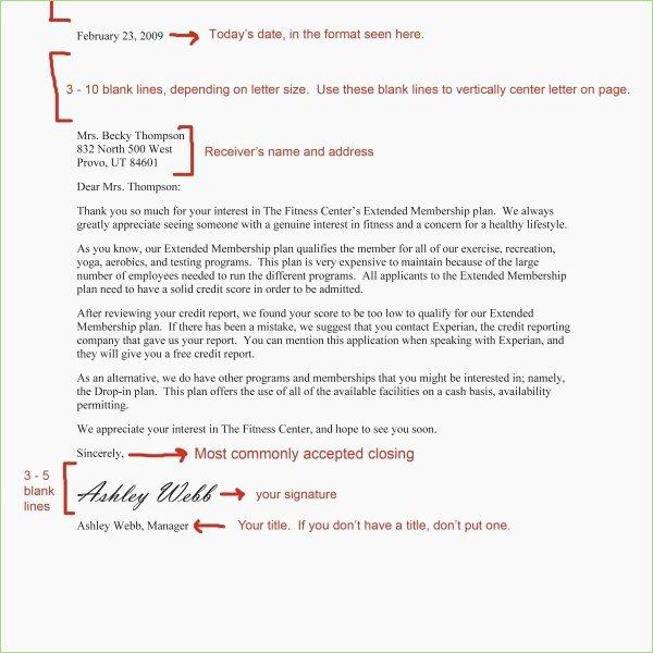 Business Letter format Purdue Owl Fresh Owl Purdue Letter format – thepizzashop