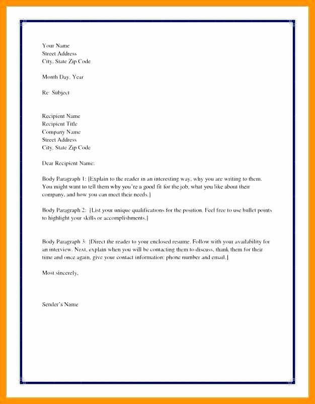 Business Letter format Purdue Owl Inspirational Owl Purdue Cover Letter