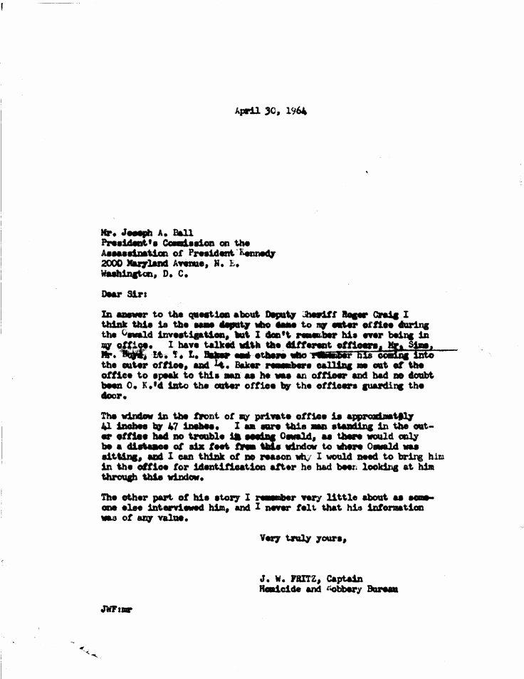 business letter sample