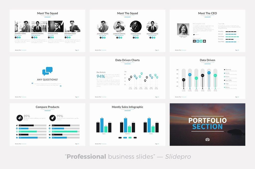 Business Plan Powerpoint Template Beautiful Business Plan Powerpoint Template Presentations On