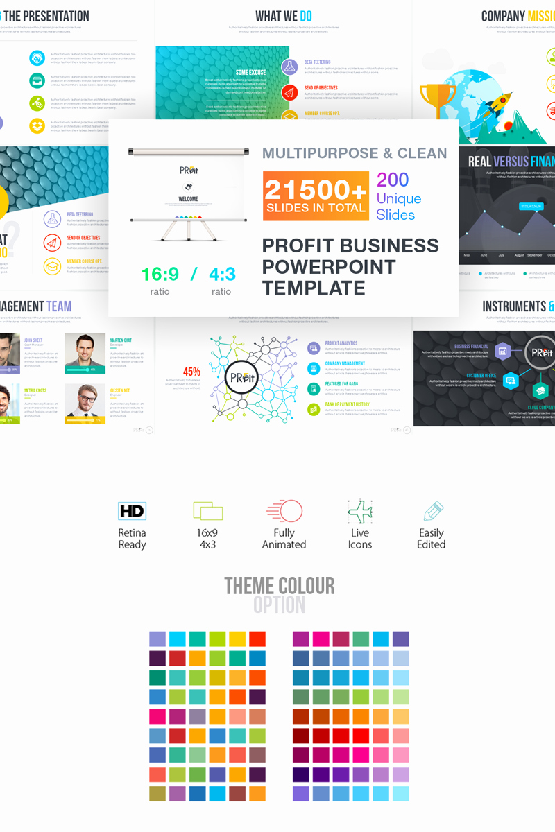 Business Plan Powerpoint Template Beautiful Business Plan Presentation Powerpoint Template
