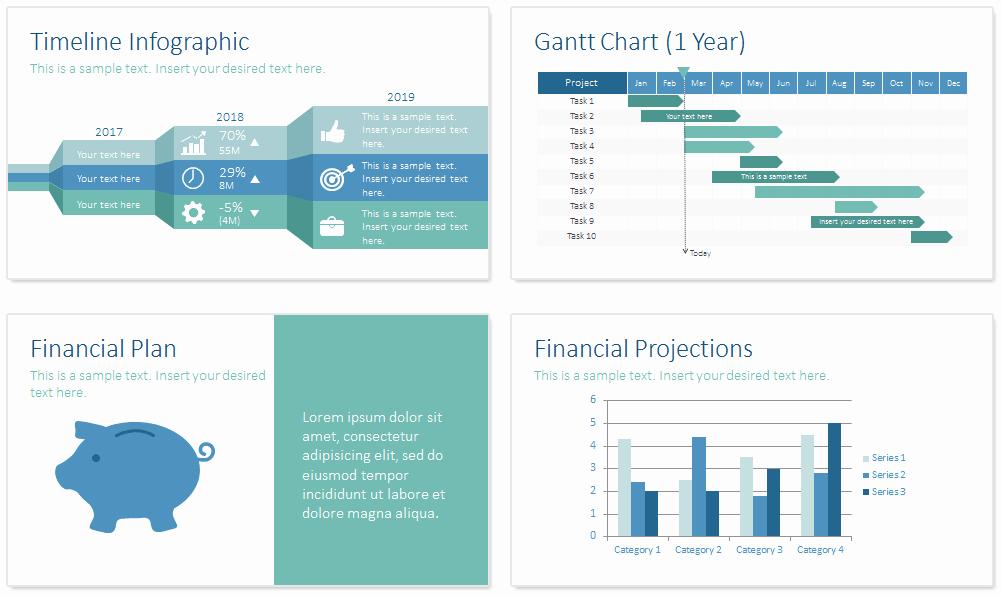 Business Plan Powerpoint Template Best Of Business Plan Powerpoint Template Presentationdeck