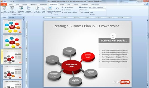 Business Plan Powerpoint Template Elegant Business Plan Powerpoint Template Free 10 Cool