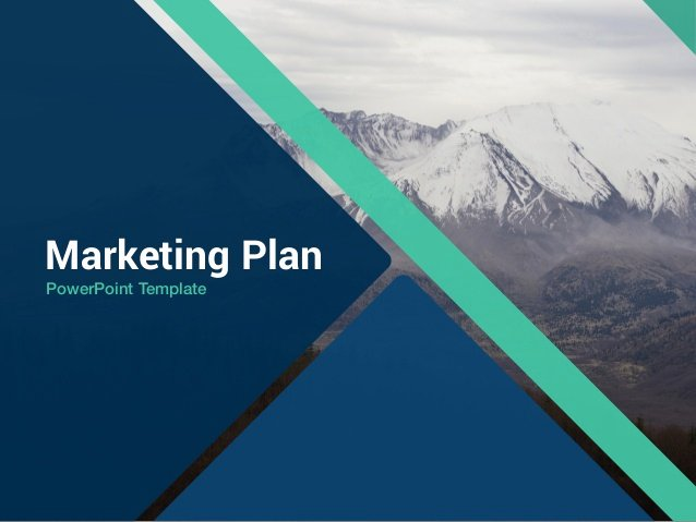 "Business Plan Powerpoint Template Free Awesome Free Template ""marketing Plan"" Powerpoint"