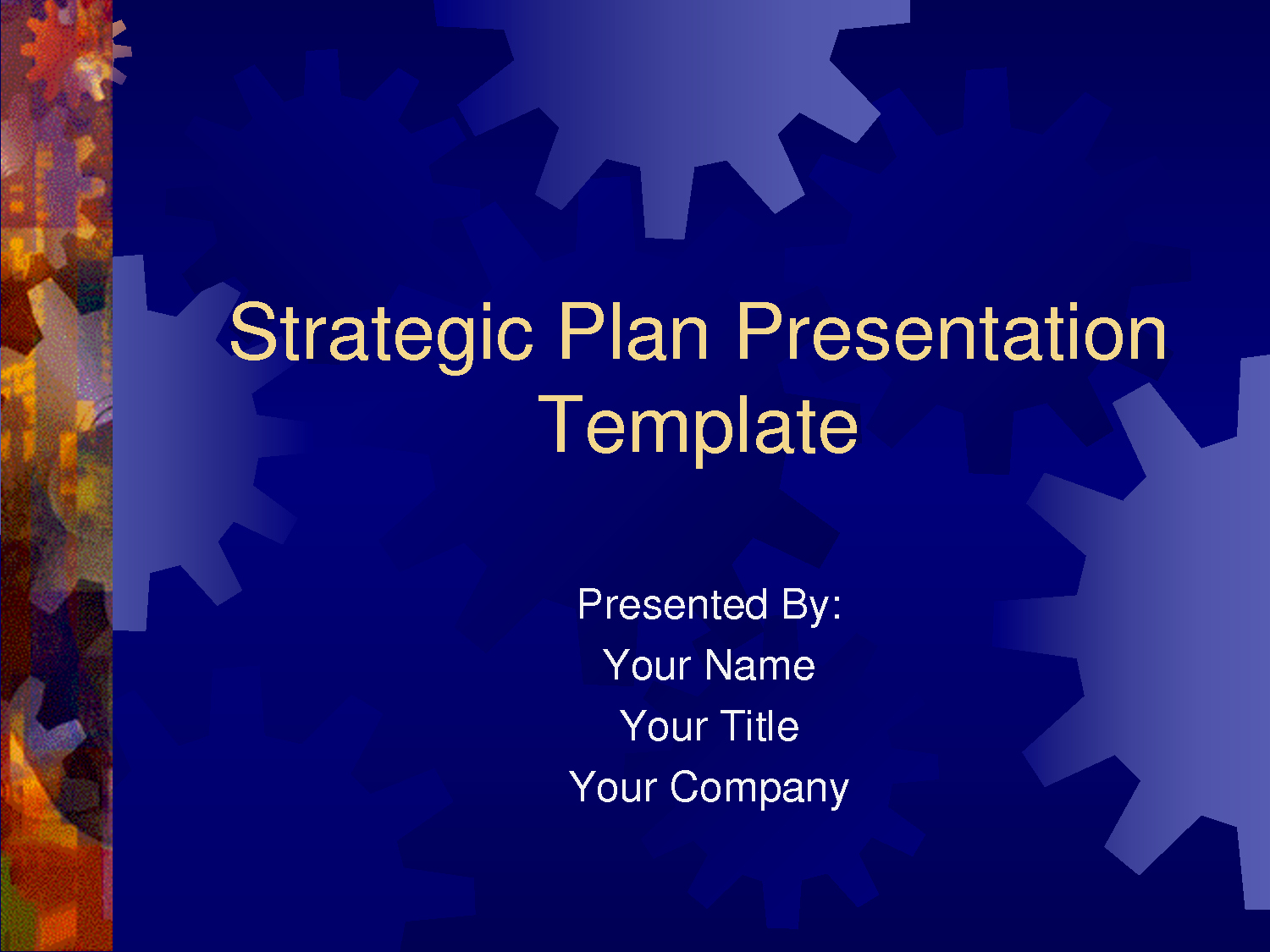 Business Plan Powerpoint Template Free Awesome Strategic Plan Powerpoint Templates Business Plan