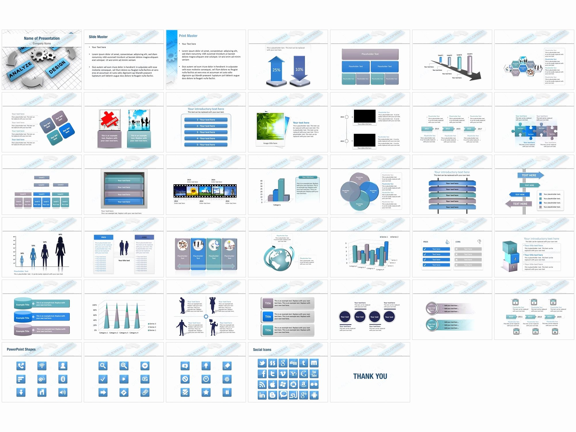 Business Plan Powerpoint Template Free Beautiful Business Plan Analysis Powerpoint Templates Business