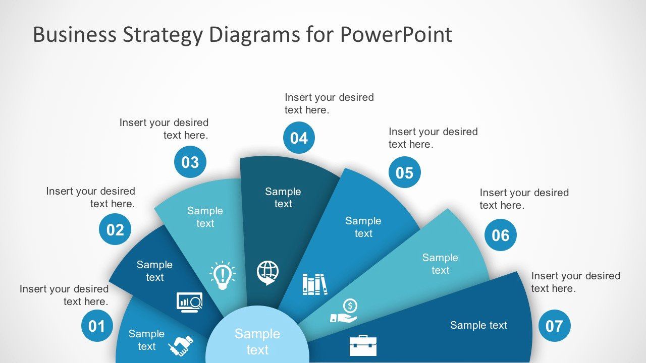 Business Plan Powerpoint Template Free Best Of Free Business Strategy Diagram Powerpoint Slidemodel