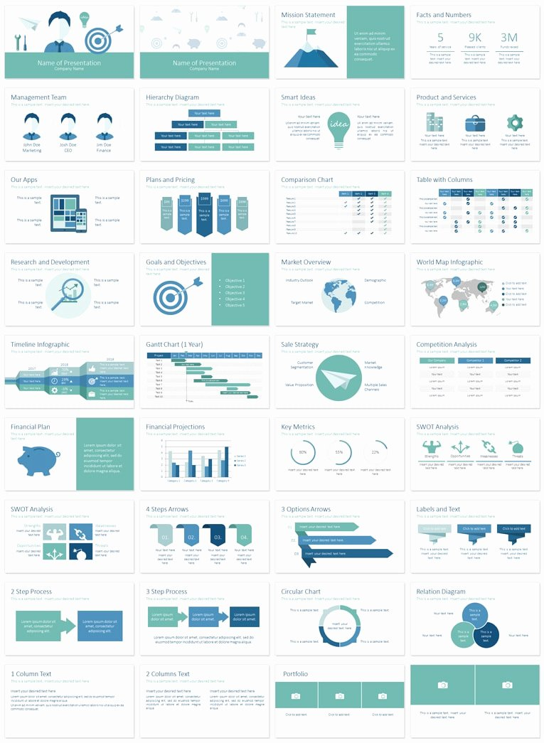 Business Plan Powerpoint Template Free New Business Plan Powerpoint Template Presentationdeck