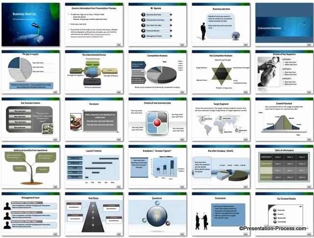 Business Plan Powerpoint Template Free New Business Start Up Powerpoint Template