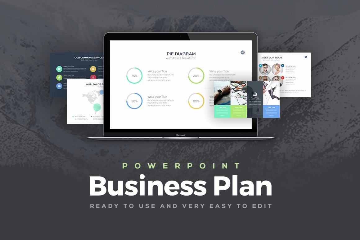 Business Plan Powerpoint Template Free Unique Business Plan Powerpoint Template Powerpoint Templates