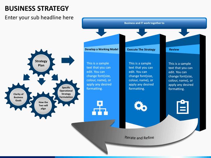 Business Plan Powerpoint Template Inspirational Business Strategy Powerpoint Template
