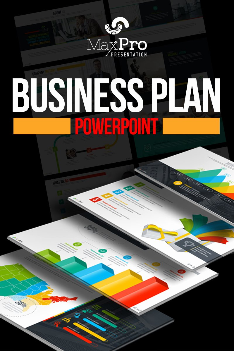 Business Plan Powerpoint Template Lovely Maxpro Business Plan Powerpoint Template