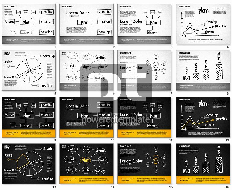 Business Plan Powerpoint Template Luxury Business Plan Template for Powerpoint Presentations