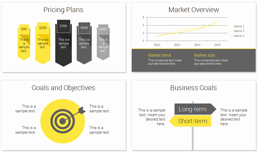 Business Plan Powerpoint Template New Modern Business Plan Powerpoint Template