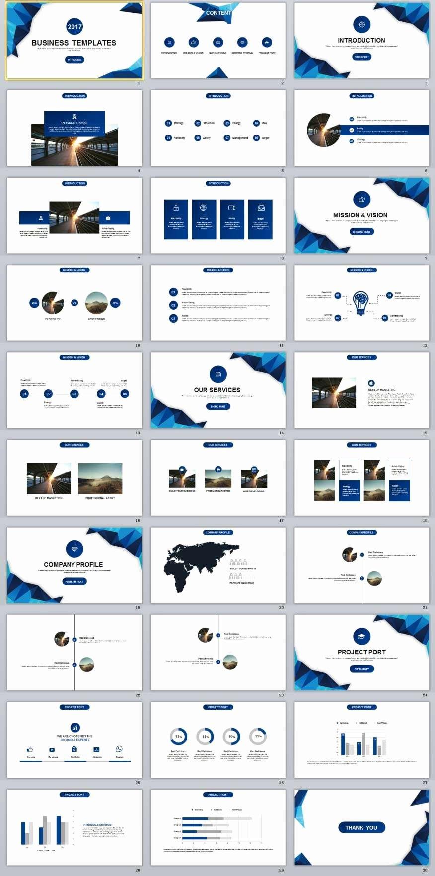 Business Plan Powerpoint Template Unique 30 Blue Business Plan Powerpoint Templates
