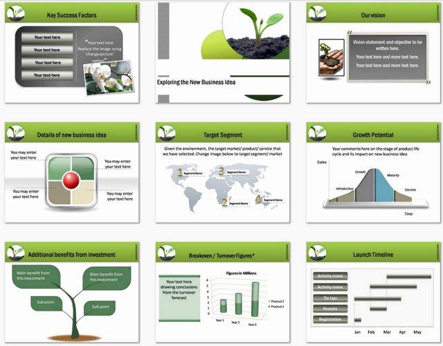 Business Plan Ppt Template Inspirational Powerpoint Business Plan Growth Template