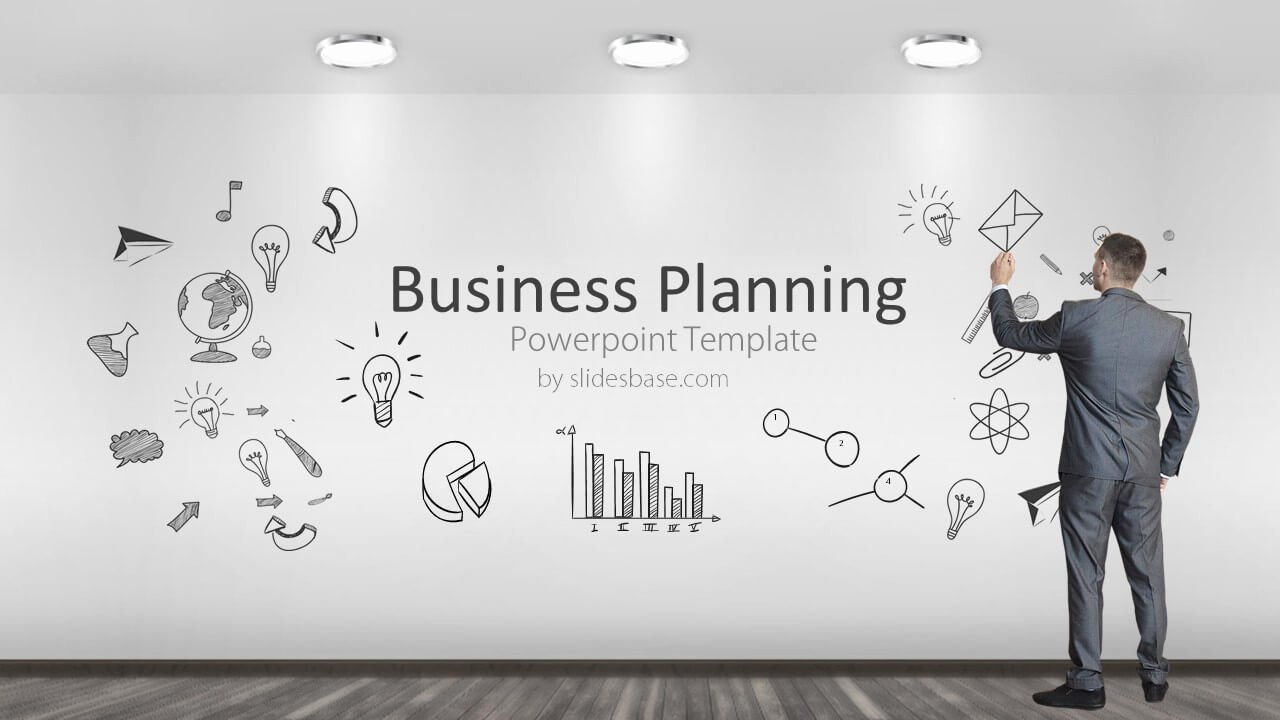 Business Plan Ppt Template New Business Planning Powerpoint Template