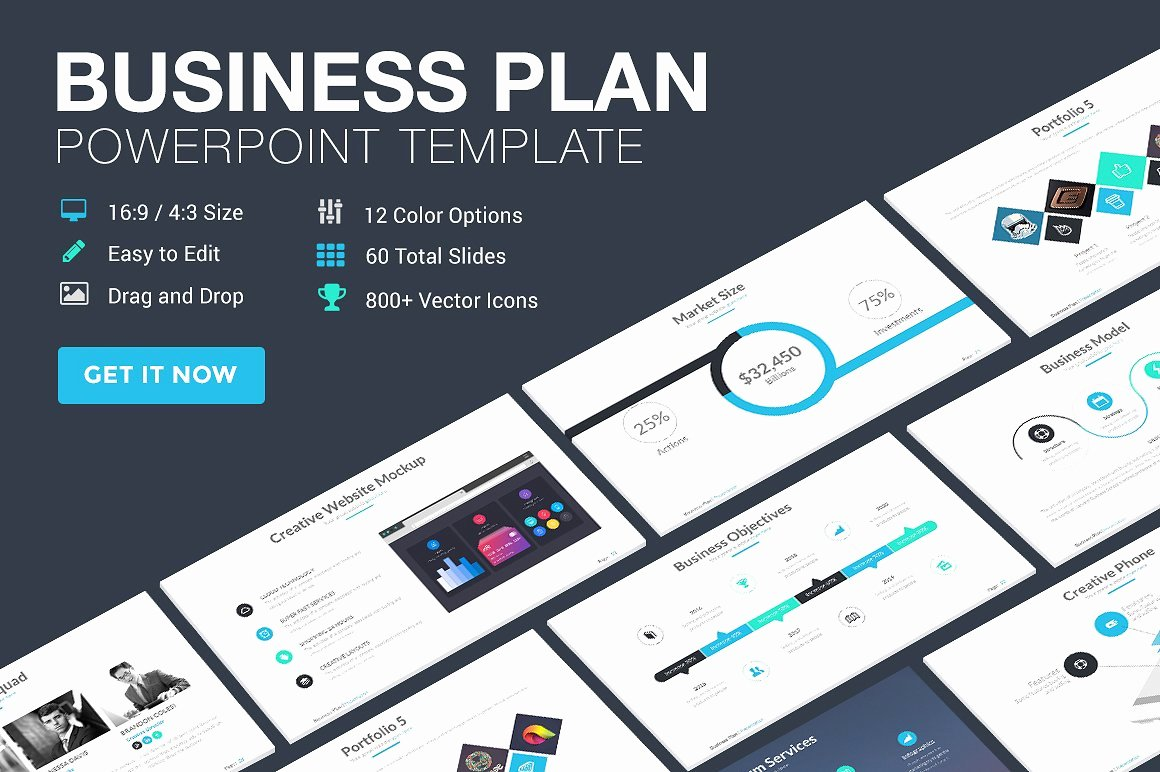 Business Plan Presentation Template Beautiful 125 Best Free Powerpoint Templates for 2018