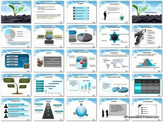 Business Plan Presentation Template Luxury Business Ambition Powerpoint Template