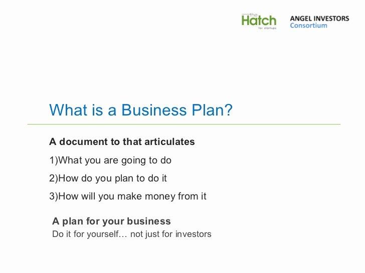 Business Plan Presentation Template Luxury Business Plan Presentation Template