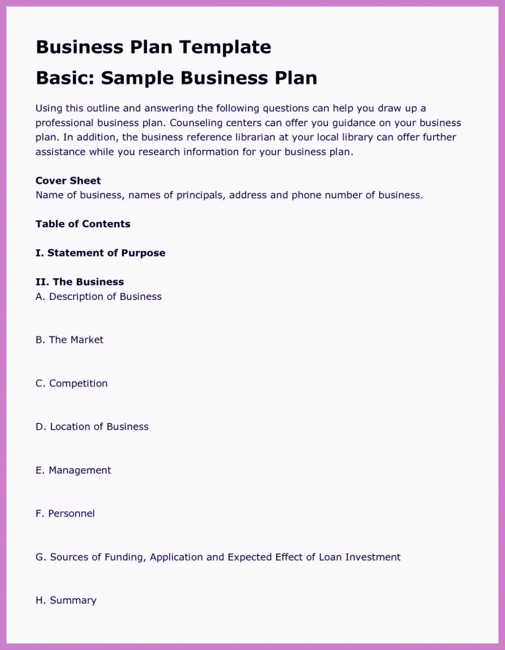 Business Plan Template Doc Inspirational Free Business Proposal Template Word Pdf