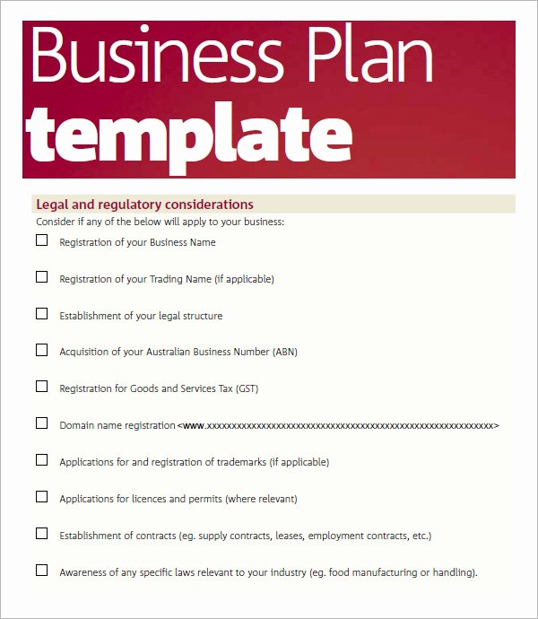 Business Plan Template Doc Lovely Bussines Plan Template 17 Download Free Documents In