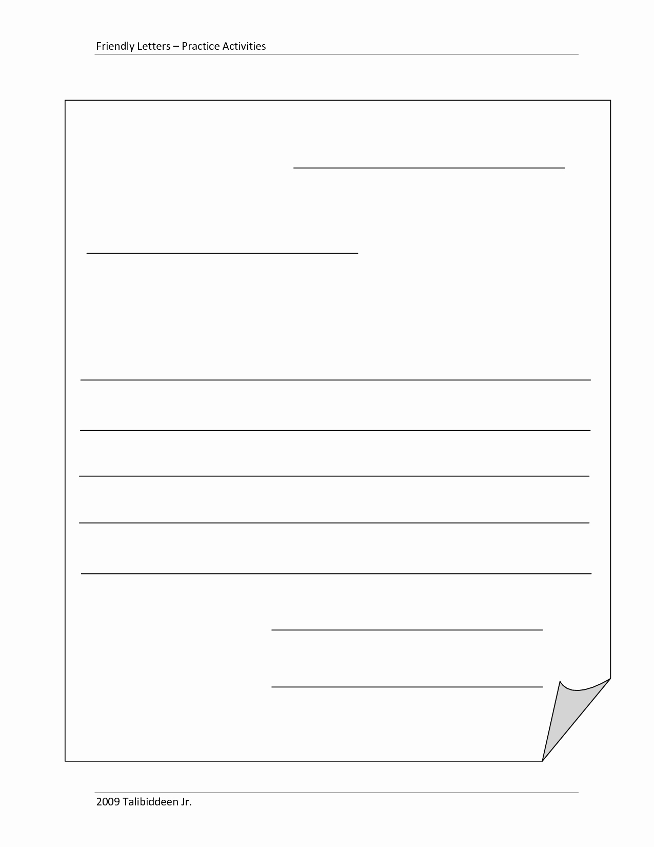 Business Plan Template for Kids Awesome Blank Letter Template for Kids