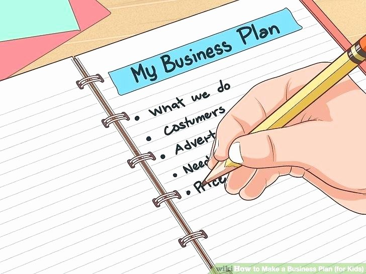 Business Plan Template for Kids Unique Business Plan How to How to Draw Up the Best Business Plan