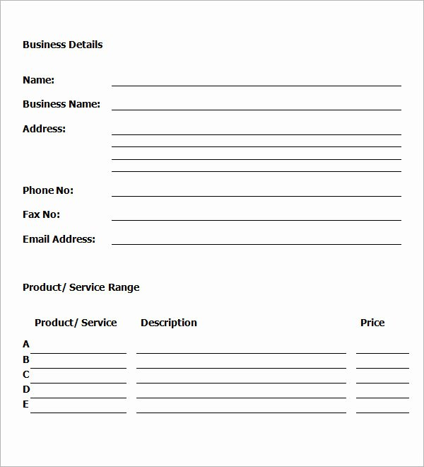 Business Plan Template for Kids Unique Business Plan Template 32 Download Free Documents In