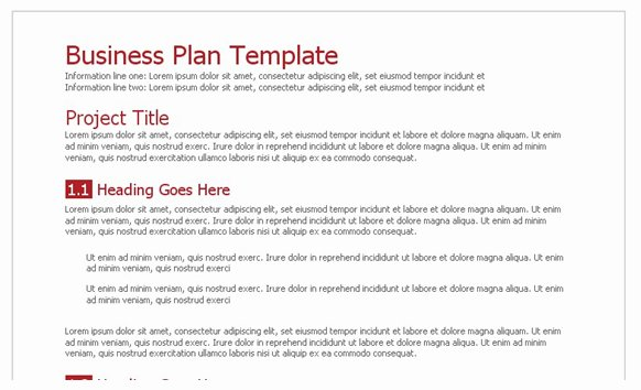 Business Plan Template Google Docs Awesome Business Plan Template Google Docs