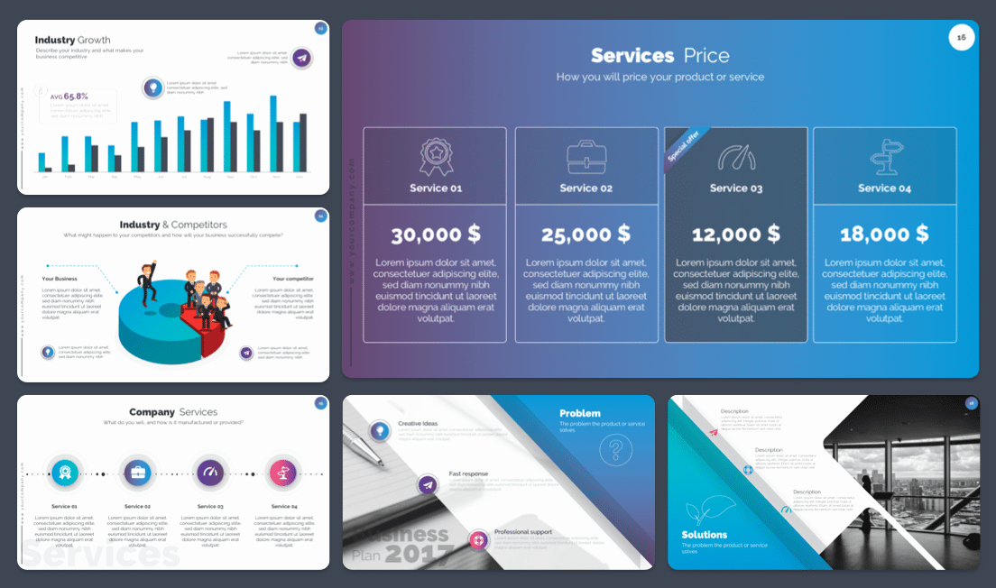 Business Plan Template Powerpoint Awesome Free Powerpoint Business Plan Template Premast Templates