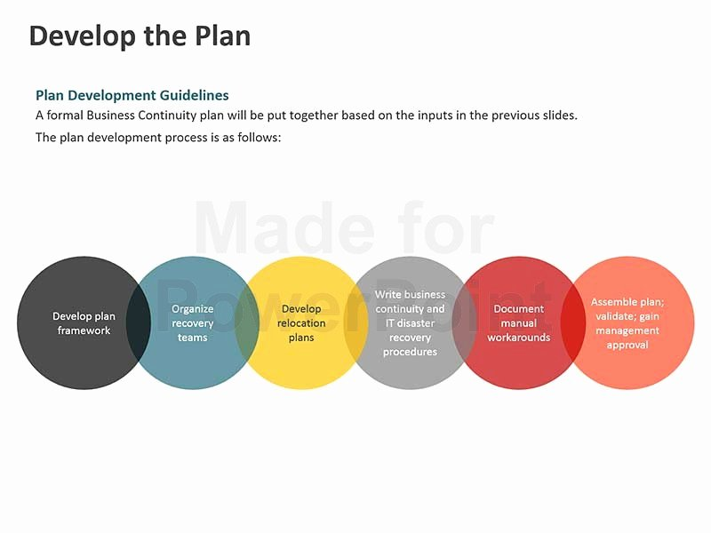 Business Plan Template Powerpoint Best Of Business Continuity Plan Template Powerpoint Presentation
