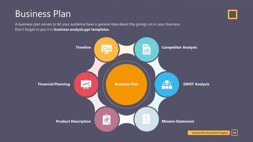 Business Plan Template Powerpoint Lovely Business Plan Premium Powerpoint Slide Templates