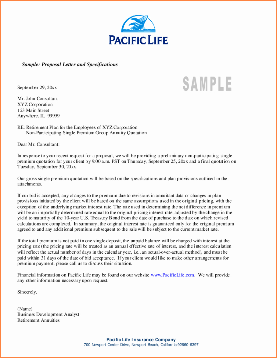 Business Proposal Letter format Luxury 6 Business Proposal Template Pdf