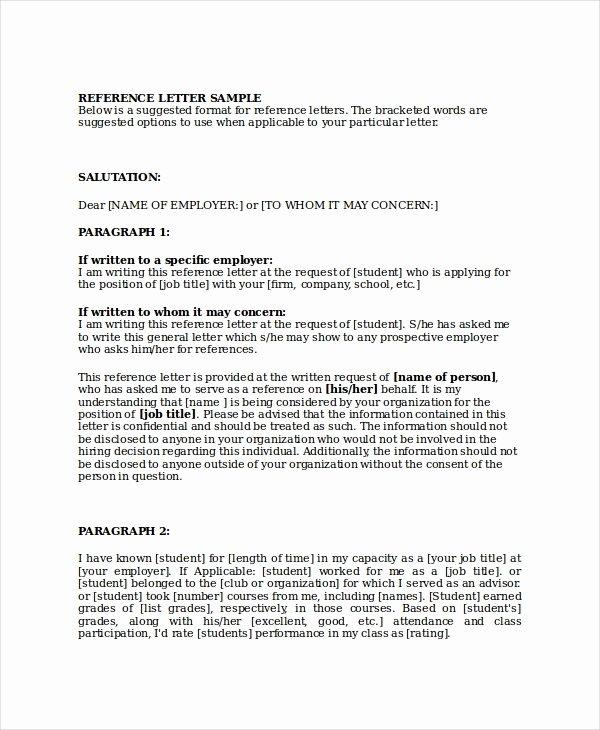 Business Recommendation Letter Sample Inspirational 10 Sample Business Reference Letter Templates Pdf Doc