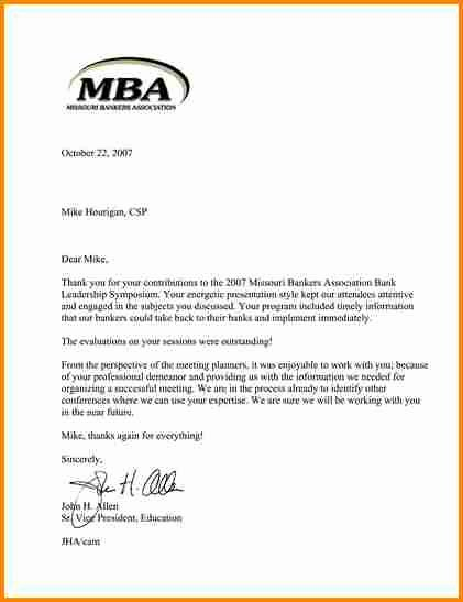 Business School Recommendation Letter Lovely 6 Business School Letter Of Re Mendation Sample