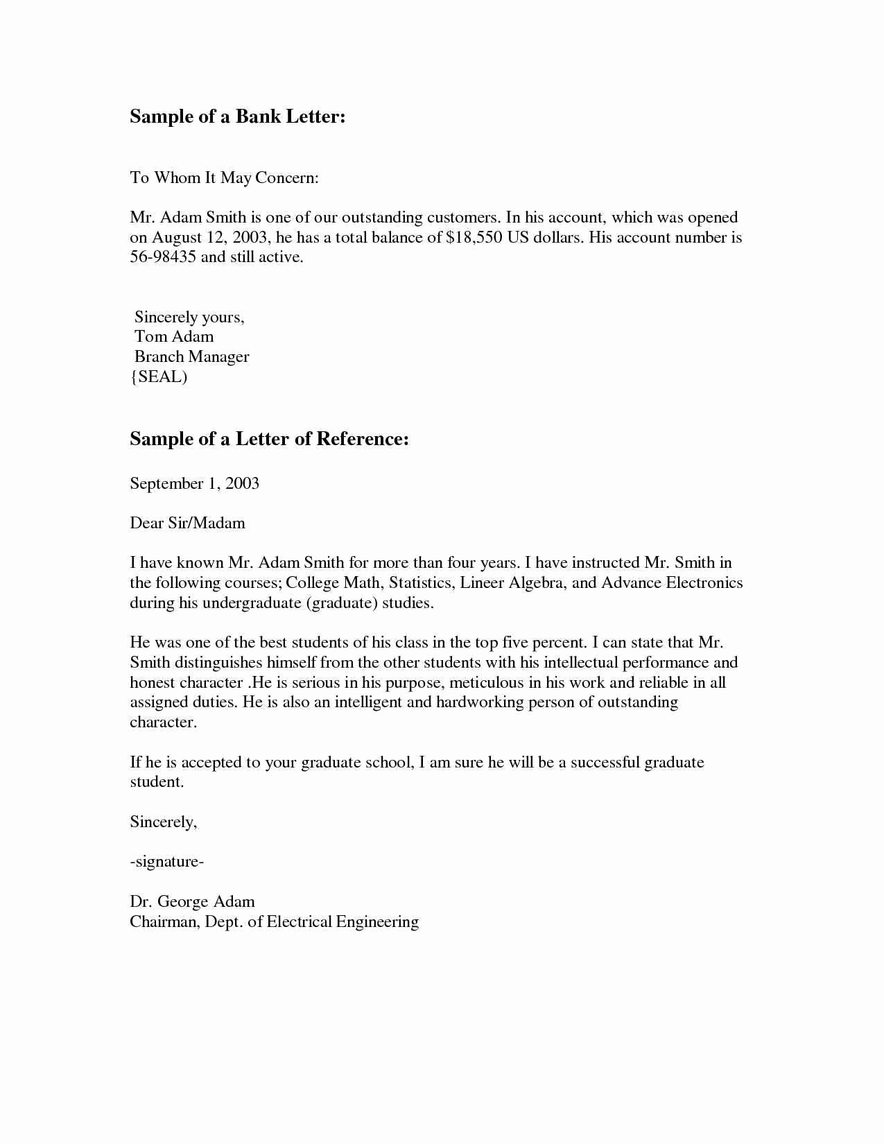 Business School Recommendation Letter Sample Elegant New Re Mendation Letter Template Business School