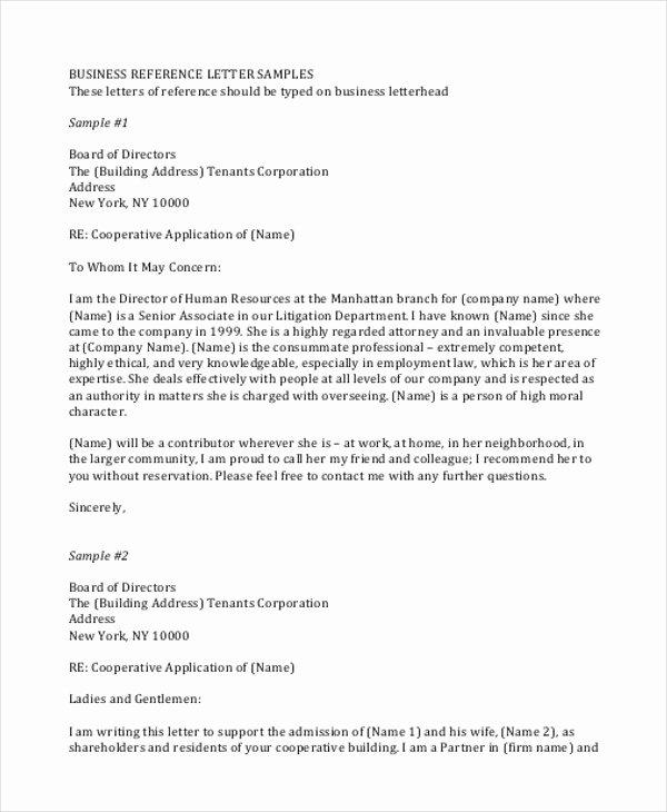 Business School Recommendation Letter Unique 7 Sample Professional Business Letters