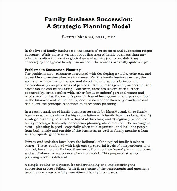 Business Succession Plan Template Beautiful 10 Succession Planning Templates