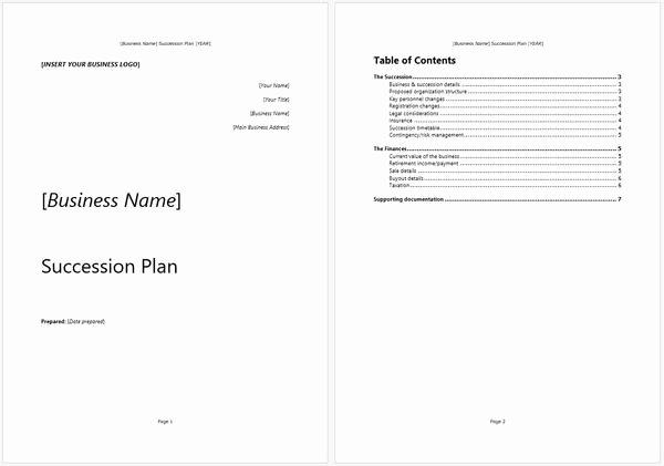 Business Succession Plan Template Fresh Business Succession Plan Template and Guide – Starters