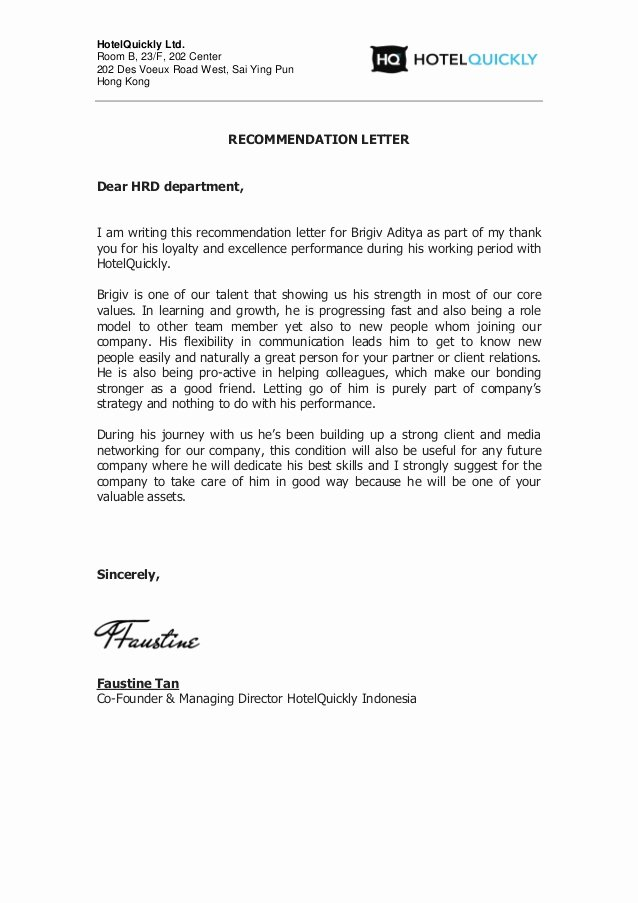 Buy Letter Of Recommendation Awesome Re Mendation Letter Brigiv 1